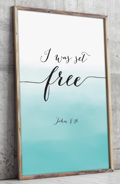 Bible verse art printable Christian wall art decor poster ...