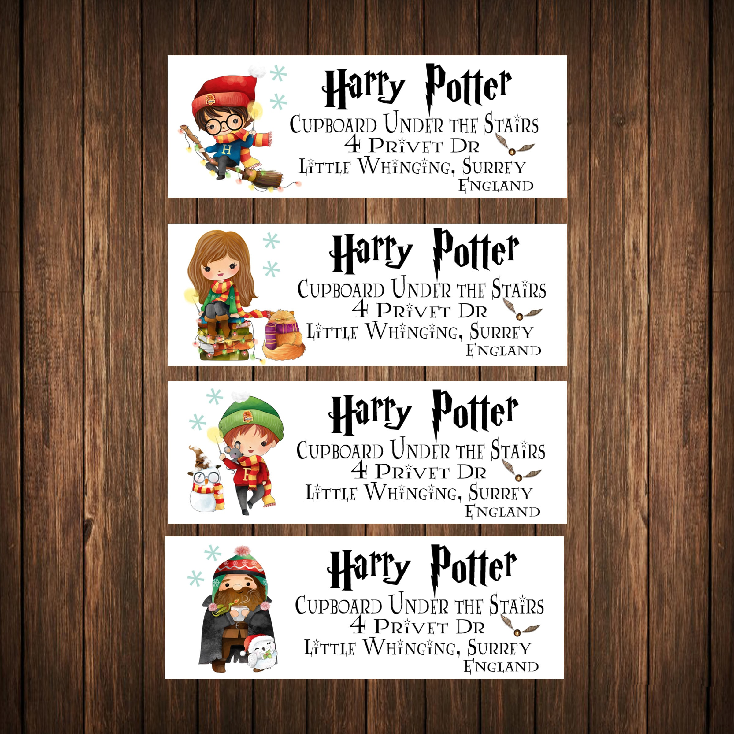 Magical Kids Christmas Labels Address Labels Mailing Labels | Etsy