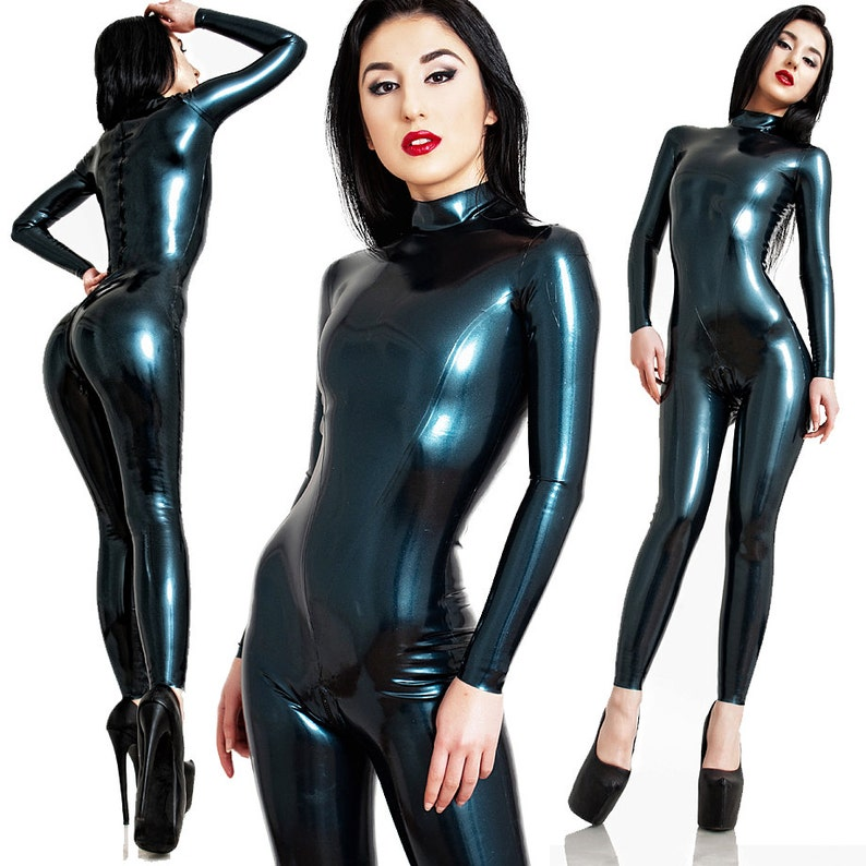 Latex Catsuit  Standard Design  Made to Meausre  Skin-tight image 0