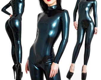 Latex Catsuit - Standard Design - Made to Measure - Skin-tight rubber catsuit for men and women
