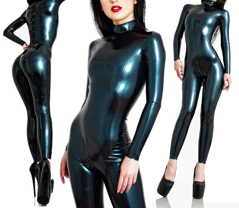 Latex Catsuit  Standard Design  Made to Measure  Skin-tight image 0