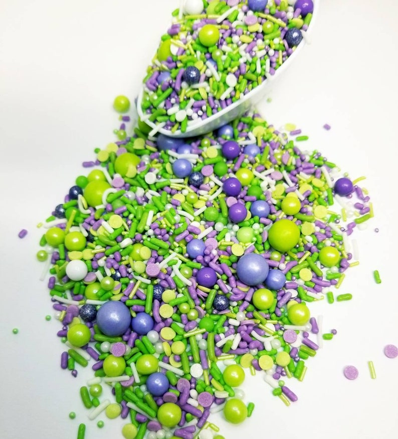 Purple princess sprinkle mix