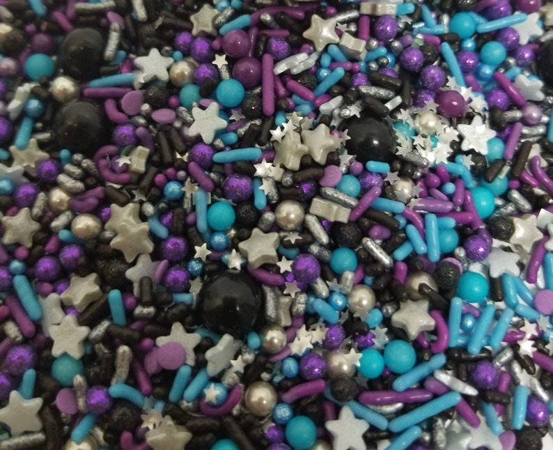 Space galaxy sprinkle mix