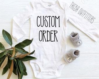 590e8e3ae Custom onesies
