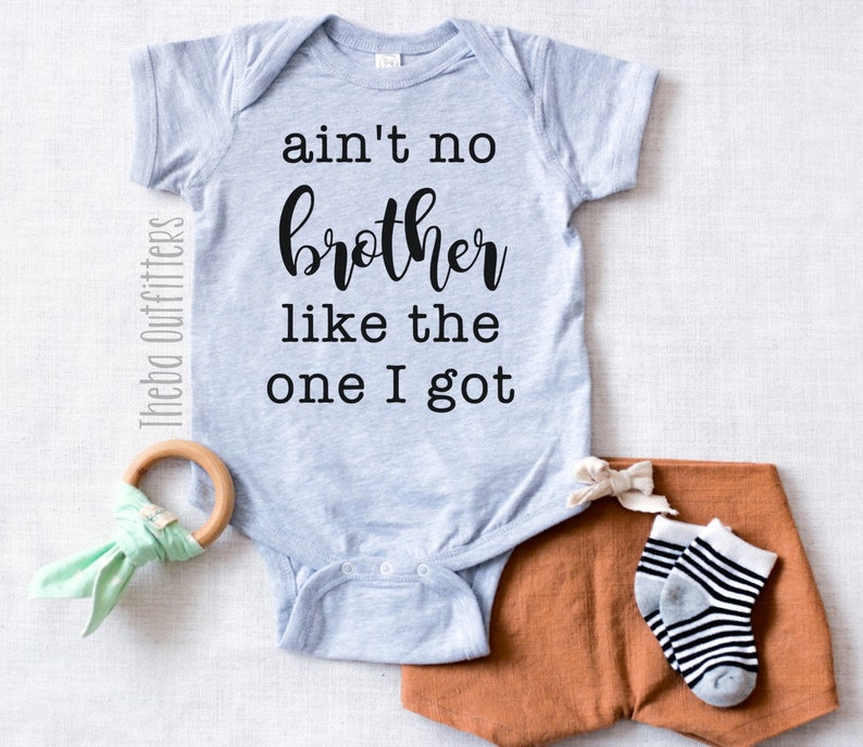 Ain't No Brother Like the One I Got ONESIE® Sibling Gift image 0