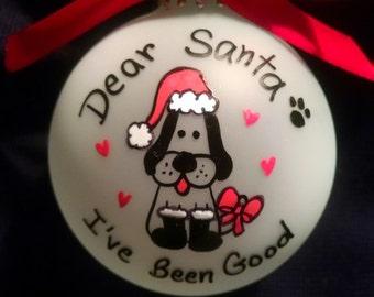 Dog ornament, pet christmas ornament,Pet lovers, christmas, gift, pet, dog, cat, lovers,custom,bulb,ball, tree