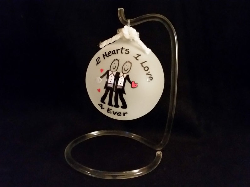 Gay wedding gift for gay men love is love and love wins gay wedding gift for Mr and Mr gay marriage gift for couple at Christmas