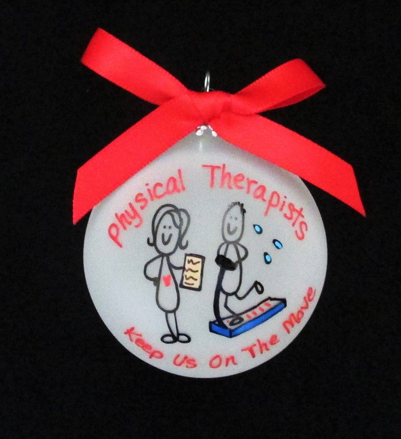 Personalized Christmas ornament for Physical Therapists | Etsy