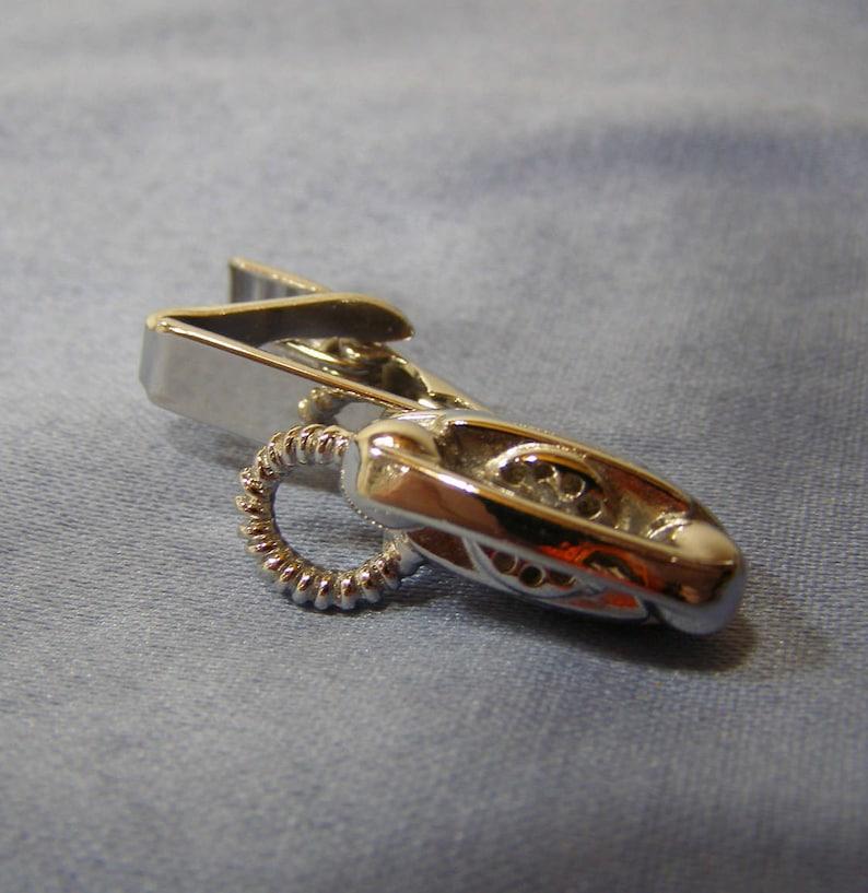 vintage Rotary Telephone Tie Clasp rare Mid Century Tie Clasp silver plate Novelty Phone Tie Bar PRINCESS PHONE Tie Clip Wedding Jewelry