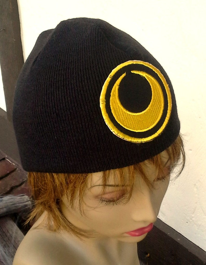 bae4a9d520dad Luna or Artemis Winter Hat Embroidered Beanie Men or