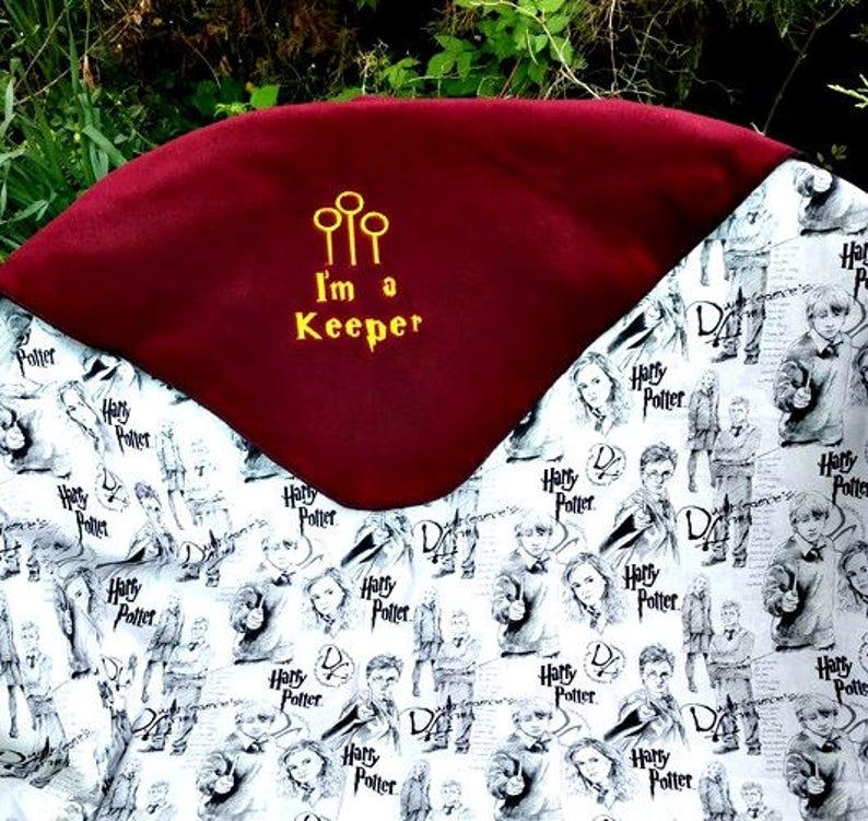 Harry Potter Inspired Fleece Baby Blanket Personalized ...