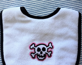 Pink Pirate Bib