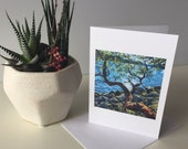Seascape Art Card Greeting Cards made with images of Lori Morris original paintings.  Set of 8.