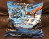 Art Pillow, Tree Pillow, ...