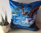 Art Pillow, Tree Pillow, ...