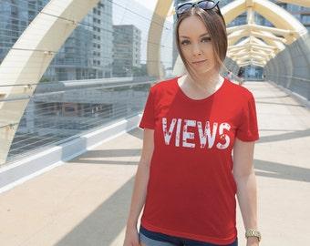 44003bb45cd6bc More colors. Women s Views Shirt Printed ...