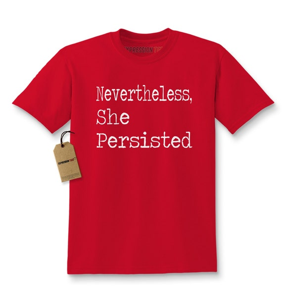 Expression Tees Nevertheless She Persisted Youth-Sized Hoodie