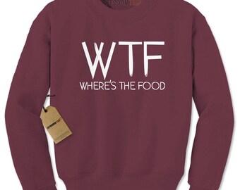 WTF. OMG. LOL. - Statement Sweat Shirt - Gift Idea - Adult Crewneck Sweat Shirt aQXSZvvlm