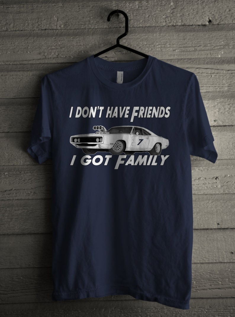 812e12350 I Dont Have Friends I Got Family Mens Shirt Handmade | Etsy