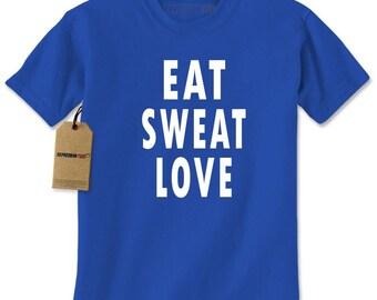 Eat Sweat Love Mens T-shirt