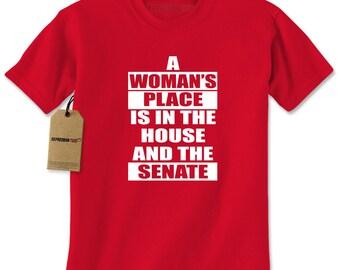 A Womans Place… Mens T-shirt