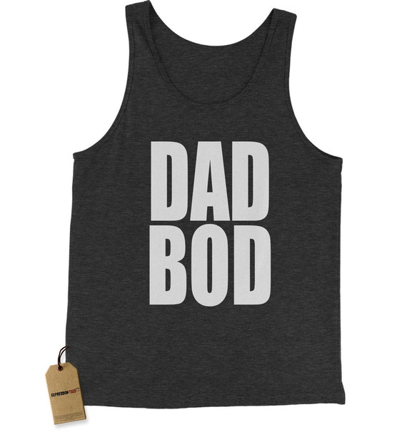 1c53d92ad Dad Bod Tank Top Funny Workout Mens Jersey Tank Gym Top | Etsy
