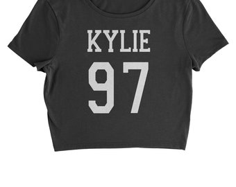 Kylie 97 Birth Year Cropped T-Shirt
