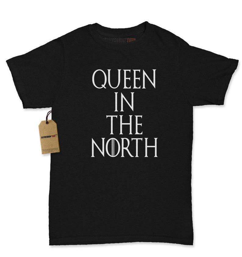 702a32eef Queen In The North Shirt GoT Womens T-shirt GoT Fan Gift   Etsy