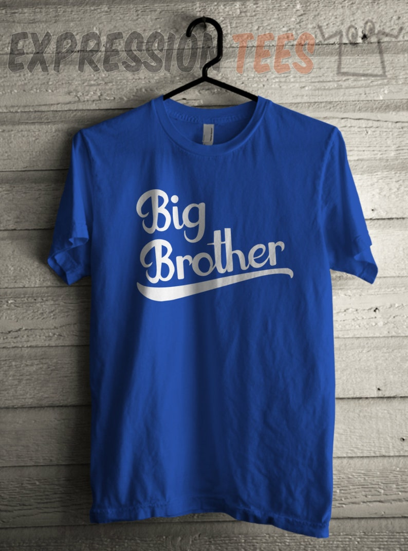 bad74810b Big Brother Men's Older Bro T-shirt, Printed Adult Shirt, Family Graphic T- Shirt, Men's Tshirt, Big Brother Shirt, ...