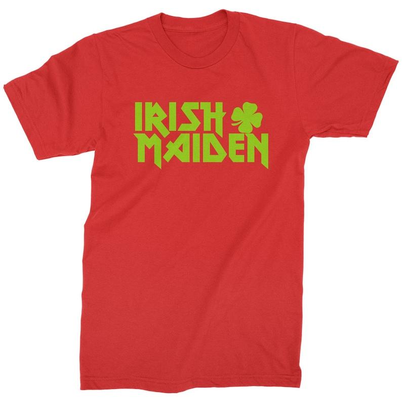 Irish Maiden ShamRocker Mens T-shirt