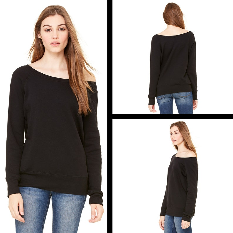 Off-shoulder Oversized Womens Sweatshirt The Future Is Female With Raw Seams Womens Feminist Sweatshirt Slouchy Fem The Future Feminism