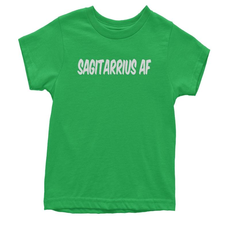 Sagitarrius AF As F-ck Zodiac Youth T-shirt