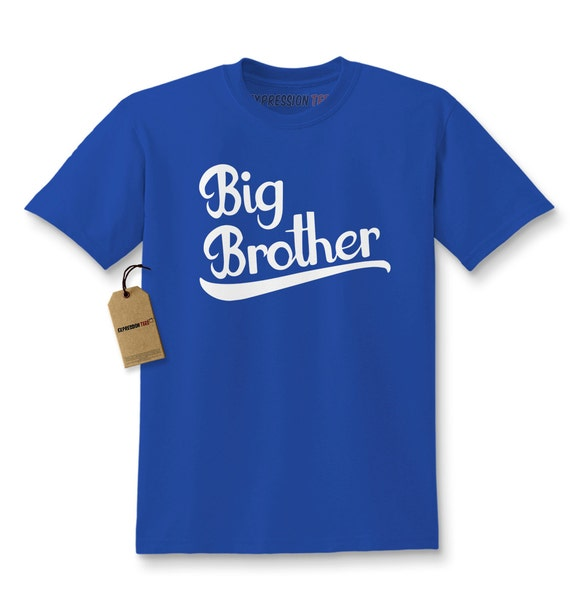 b8bef763a Kids Big Brother Shirt Printed Youth Family T-shirt 1002 | Etsy