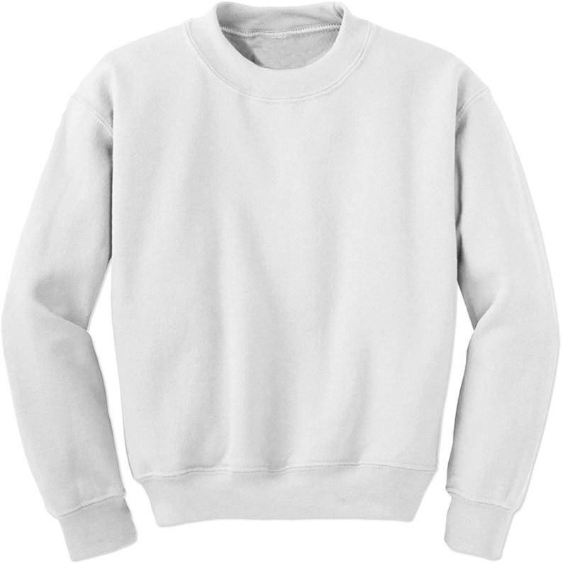 d2d650cb570 Basics Plain Blank Adult Crewneck Sweatshirt