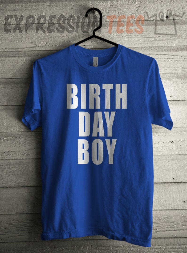 6b58d251b Mens Birthday Boy Shirt Unisex Adult Shirt Birthday Party | Etsy