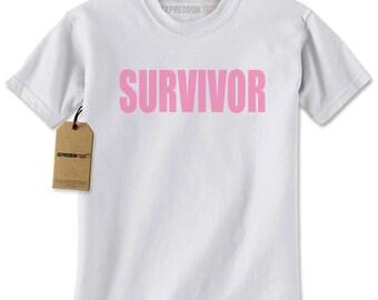 Survivor Mens T-shirt