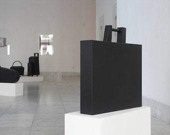 Minimalist Sculpture   NY   Cityscapes   Associative Abstract Art   Geometric Sculpture   Metal Art   Welded Metal   Architecture   Black