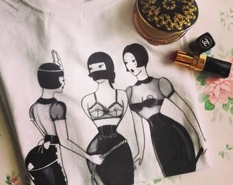 Maid Maid T-shirt