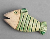 Fish magnet, Best friend gift, Fish art, Fish gift, OOAK magnet, Fish house decor, Fish kitchen decor, OOAK decor, OOAK fish, Made in Italy