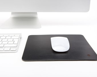 Leather Mouse Pad, Leather Mouse Mat, Leather Mousepad, Handmade Mouse Pad