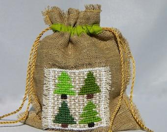 Christmas tree giftbag