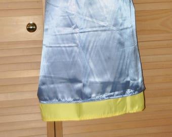 Double satin sissy skirt, slip / petticoat, Sissy Lingerie, pretty skirt for men