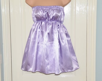 Pretty sissy dress / camisole top with matching panties, Sissy Lingerie FI