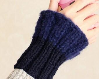 Arm warmers Knit cuffs Wool knit gift Christmas gift Women arm warmers cuffs Knit arm warmers Knitted arm warmers Arm cuffs Knitted cuffs