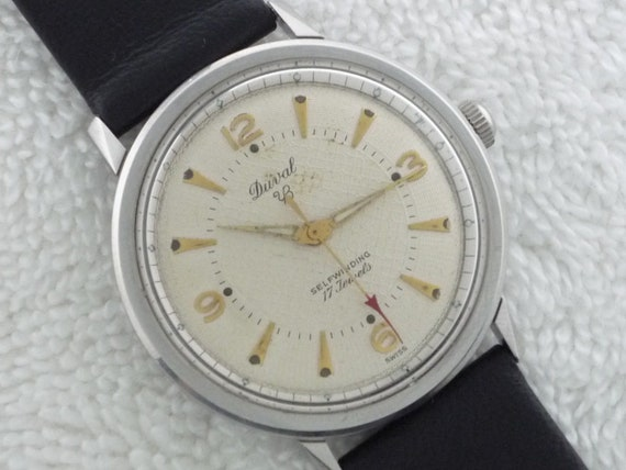 Duval Automatic Guilloche Dial Stainless Steel Ser
