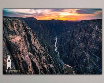Black Canyon of the Gunnison, Landscape Photography, National Park, Colorado Art, Colorado Gifts, Colorado Decor, Colorado Photography