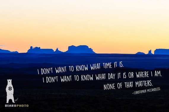 Chris McCandless I Don't Want To Know Minimalist Poster Etsy Delectable Into The Wild Quotes