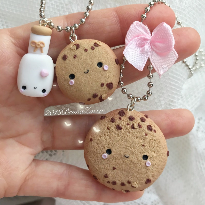 Orecchini Biscotto Cookies Cookie Kawaii Cute Earrings Fimo Polymer Clay Biscuit