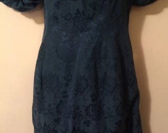 Vintage Turquoise Dress
