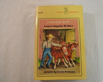 1971 Farmer Boy By Laura Ingalls Wilder Pictures By Garth Williams